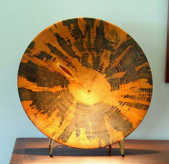Ron Kent, vessel (XH) Norfolk Island pine wood