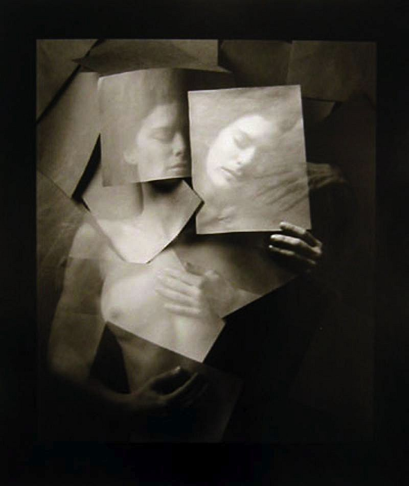 Jerry Uelsmann, Undiscovered Self- 1999 silver gelatin print