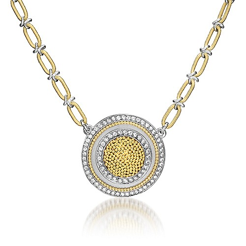 Cornelia Goldsmith, Cornelia Goldsmith Circle of Light Necklace jewelry