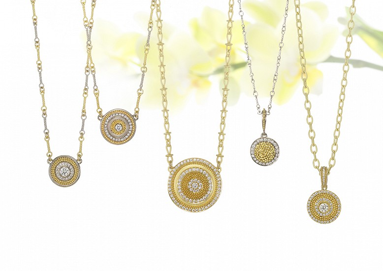 Cornelia Goldsmith, Cornelia Goldsmith Circle of Light Necklaces jewelry