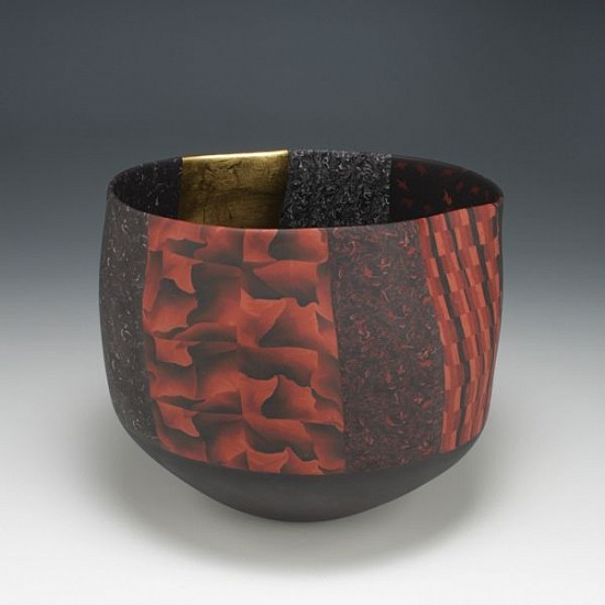 Thomas Hoadley, vessel (1044) - small bowl ceramic