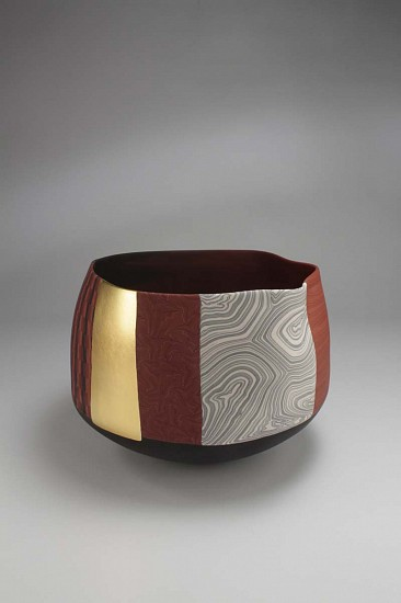Thomas Hoadley, vessel (1010) - medium bowl ceramic